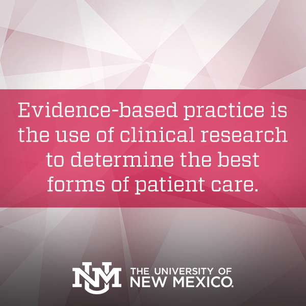 Examples Of Evidence Based Practice